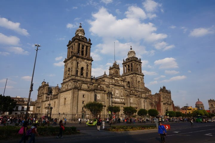 travelling to mexico city