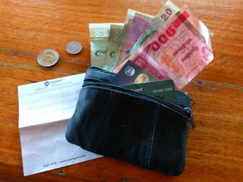 what type of money to travel with credit card, cash and local money