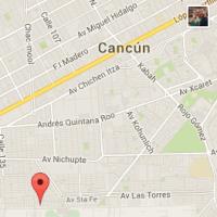B&B Cancun Map