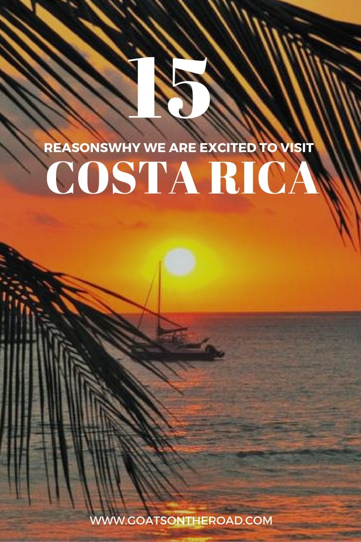 5 Reasons Why We're Excited To Visit Costa Rica