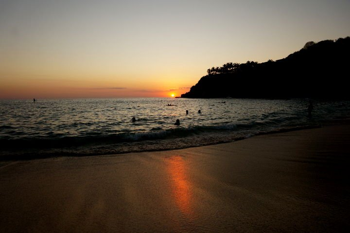 puerto escondido sunset