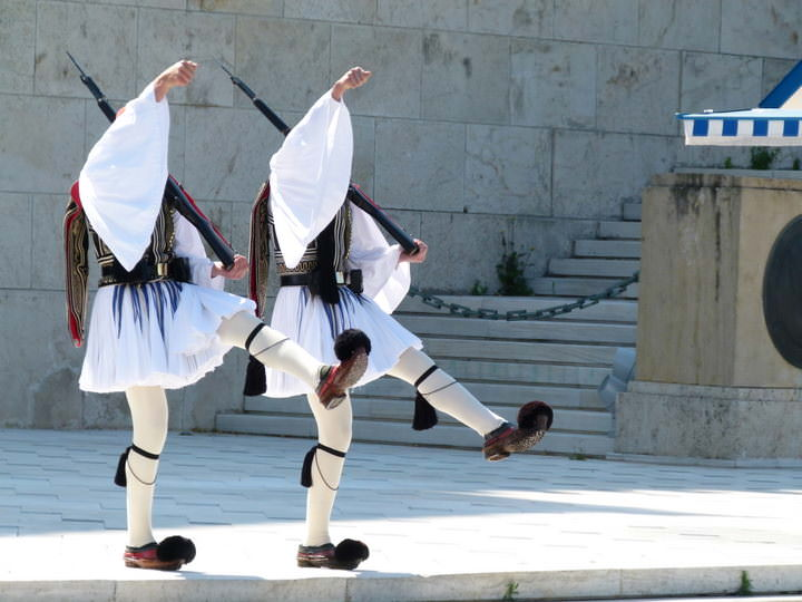 changing of the guard greece
