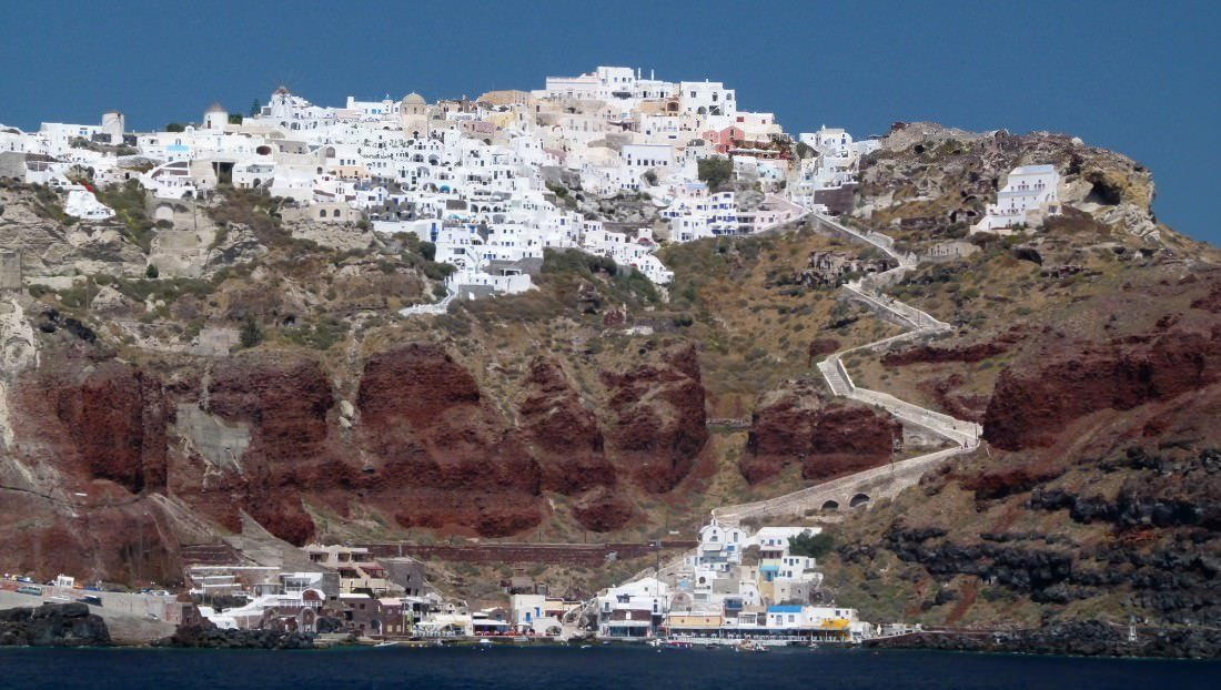 things to do in greece visit santorini island
