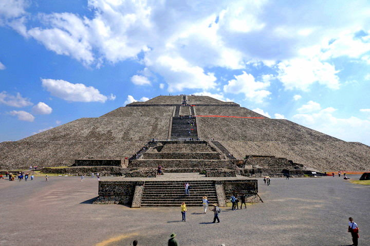 The Pyramid Of The Sun