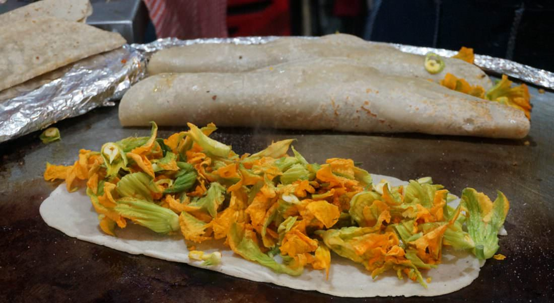 eating street food is one of the most recommended things to do in mexico
