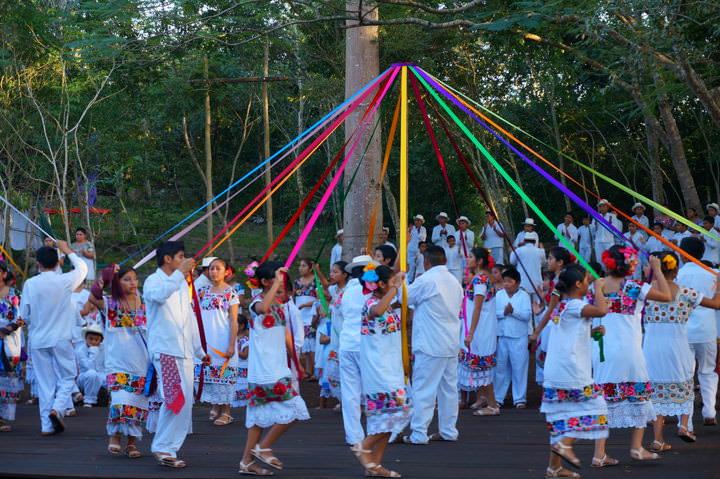Momentos Sagrados Mayas mexico