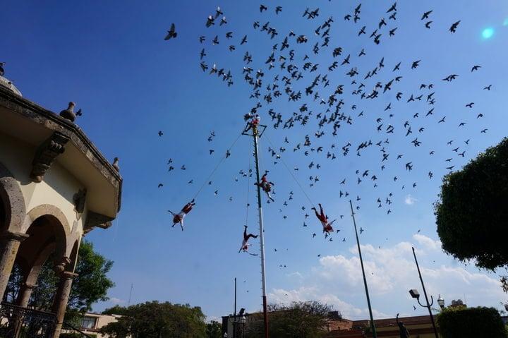Danza de los Voladores mexico