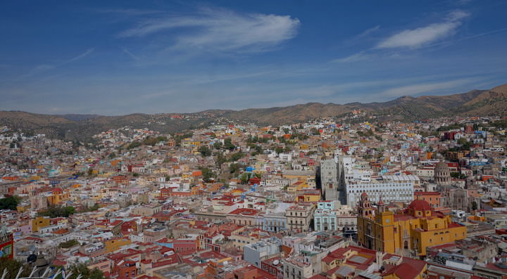 city of guanajuato mexico