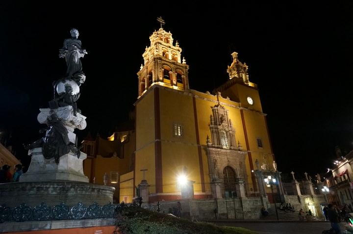 cathedral in guanajuato mexico