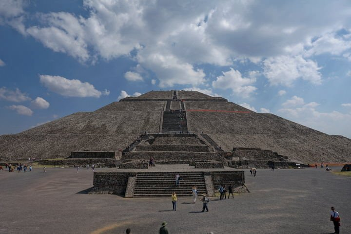 Teotihuacán sun pyramid