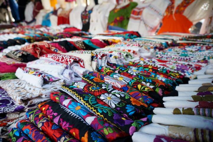 zocalo market oaxaca city