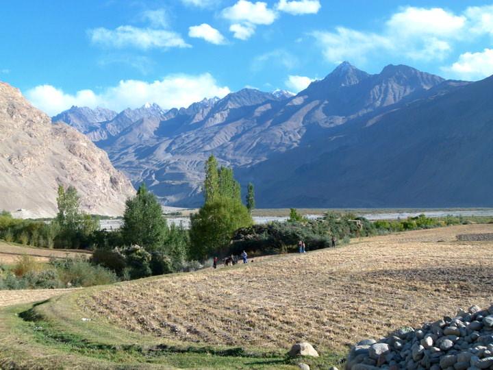 farming in langar tajikistan