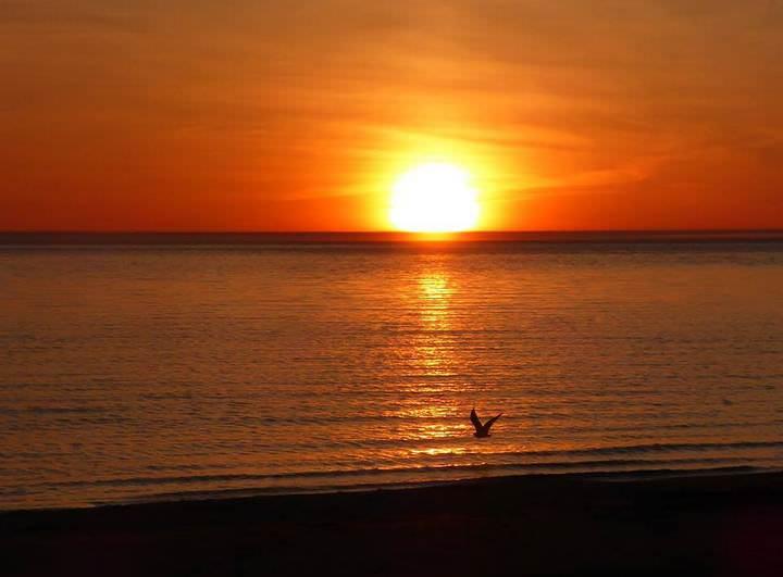 sunset ontario canada