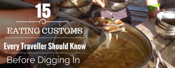 15 Eating Customs