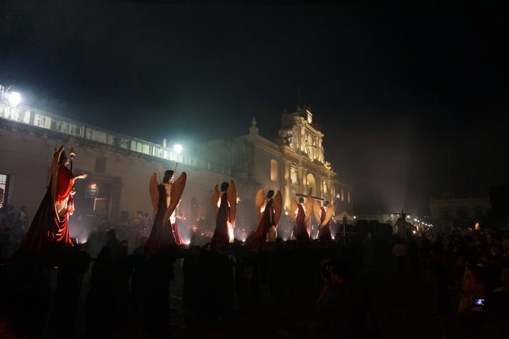 semana santa in antigua