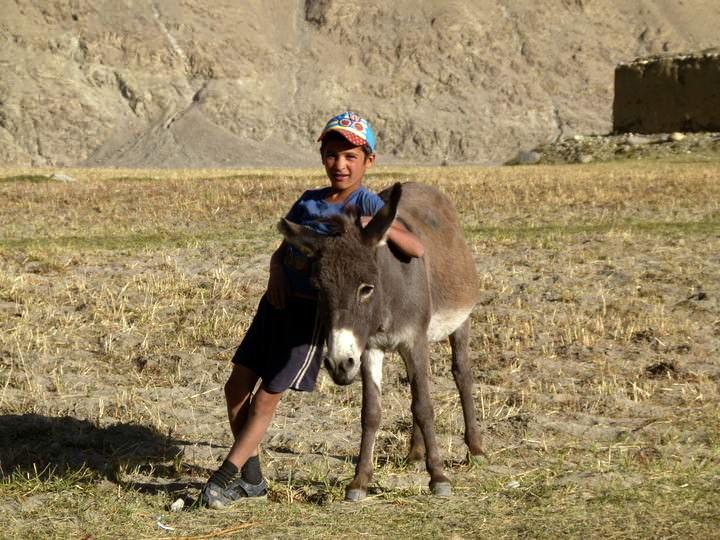 boy in langar village tajikistan