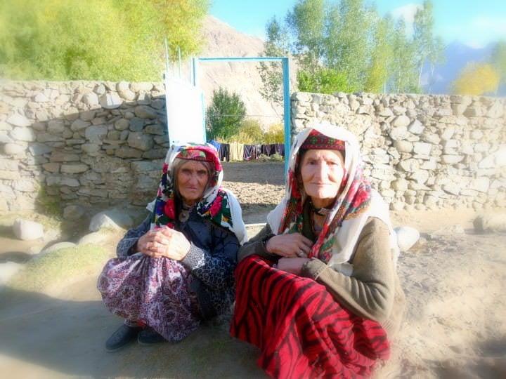 women in langar tajikistan