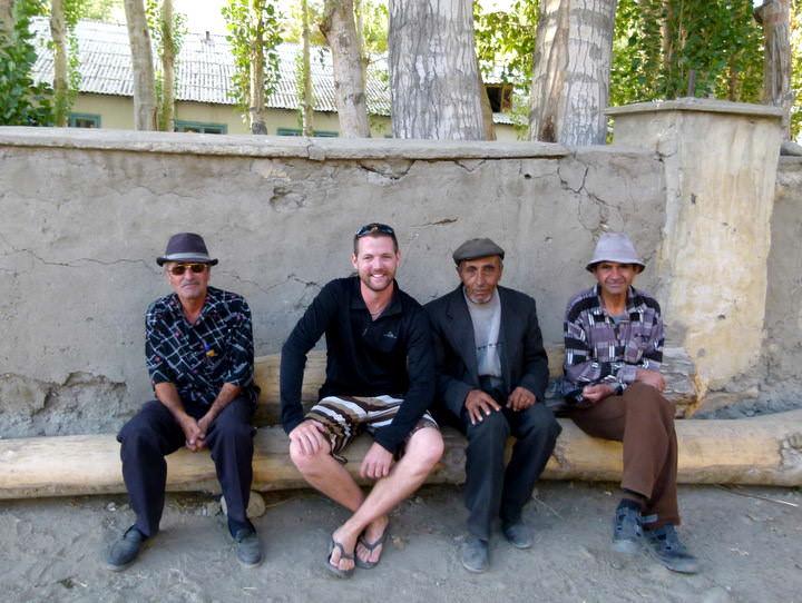 friendly locals in langar
