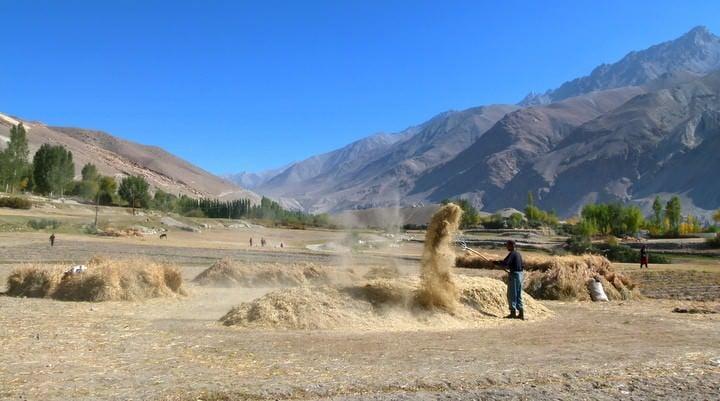 langar village tajikistan