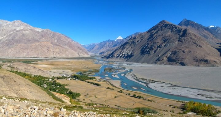 langar village and wakhan valley