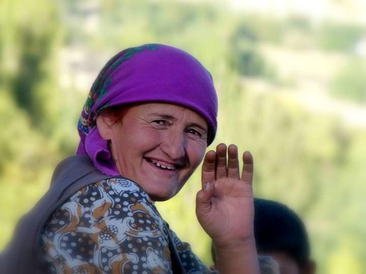 woman in langar village