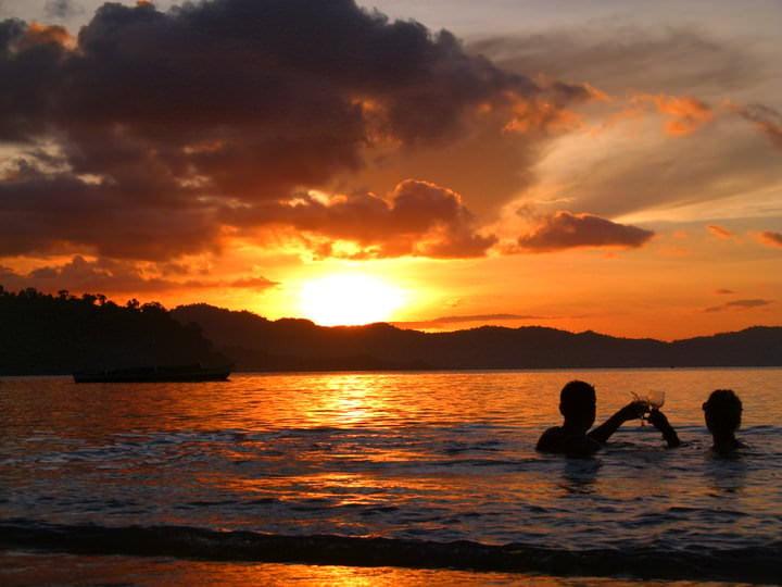Port Barton Happy Hour Sunset