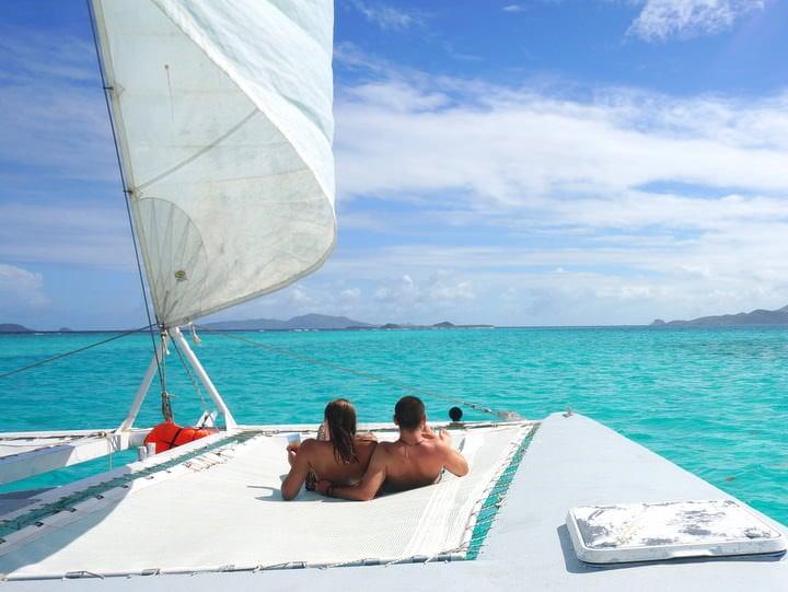Sailing Tobago Cayes