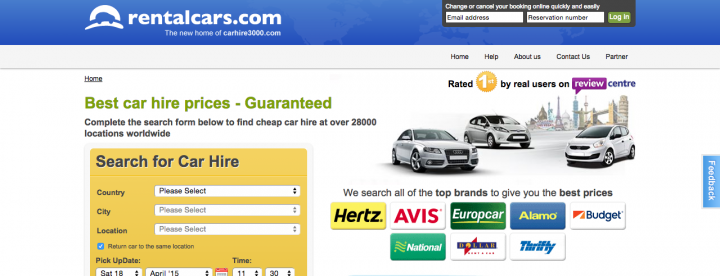 Car Hire 3000 Screenshot
