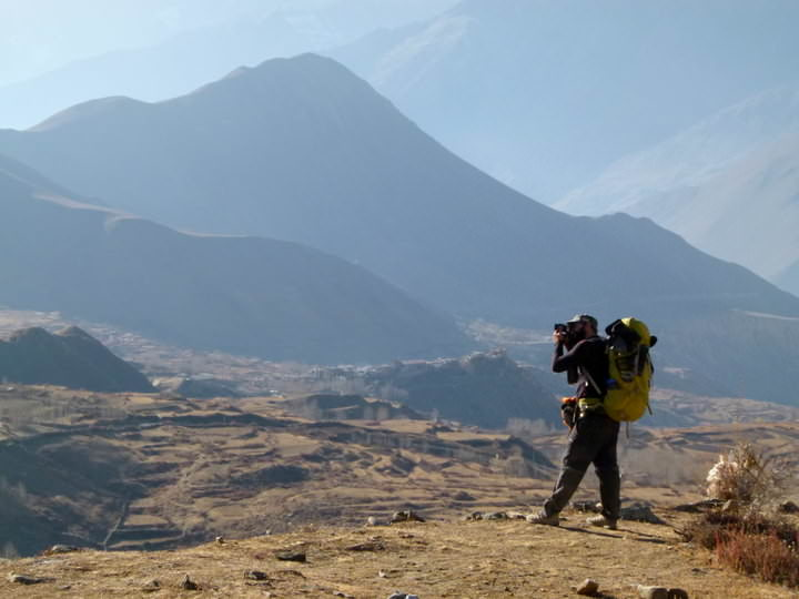 Blogging: Taking Photos Of Annapurna In Nepal