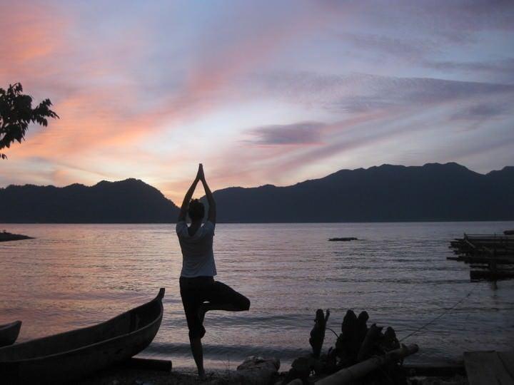 Lake Menanjau, Indonesia
