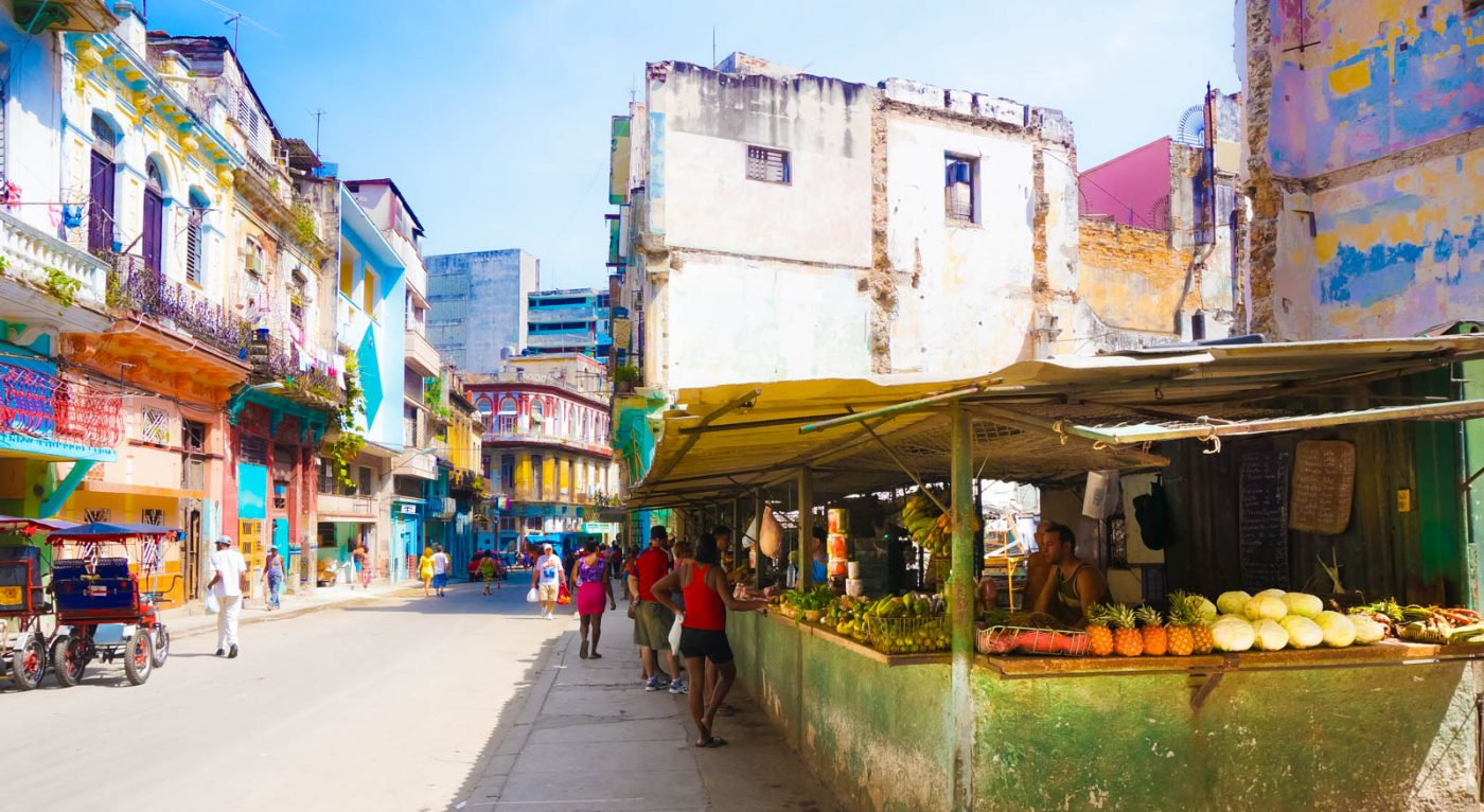 Tours to Cuba By Shops