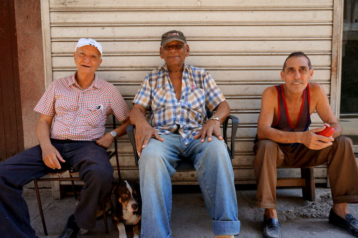 people in havana cuba
