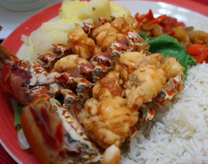 food in cuba lobster