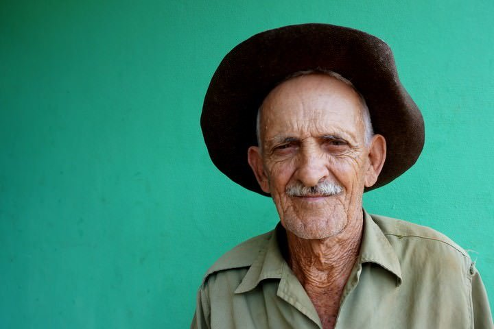 Farmer in Vinales