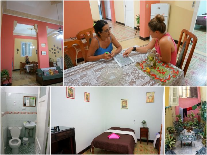 casa particular daniel y fina independent travel in Cuba
