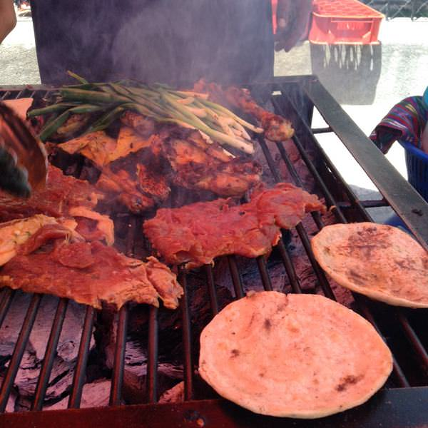 street food in guatemala