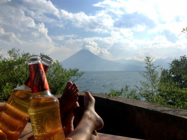 travelling to lake atitlan guatemal