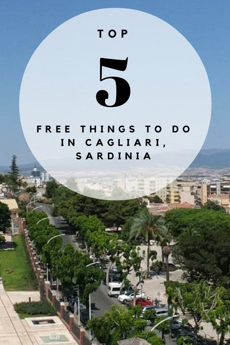 Top 5 FREE Things To Do in Cagliari, Sardinia
