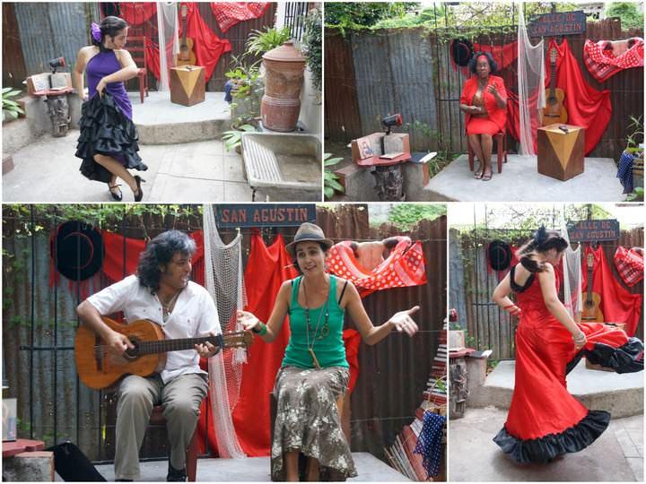 flamenco in cienfuegos cuba backpacking