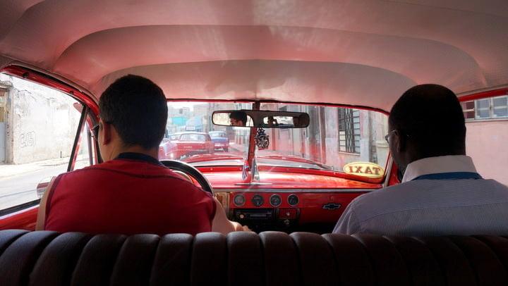 collectivo taxi havana cuba