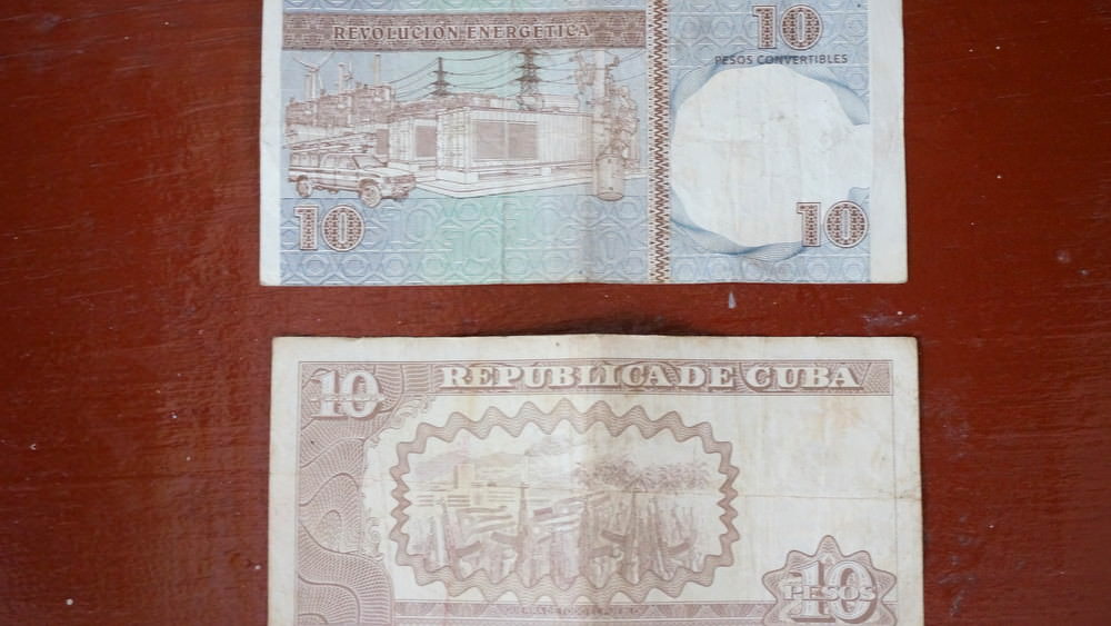 cuba dual currency national peso and convertible peso
