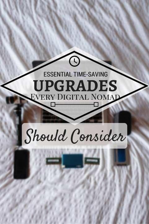 Essential Time-Saving Upgrades Every Digital Nomad Should Consider