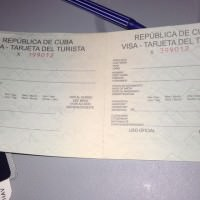 tourist card travel in cuba