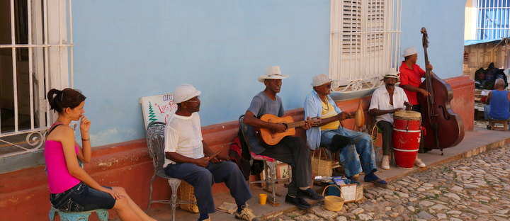 Live Street Music Travelling Cuba Independently