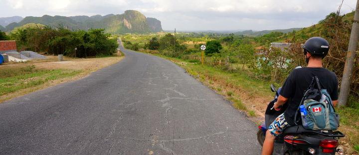 Motorbike Independent Cuba Travel