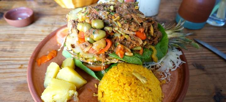 Ropa Vieja Backpacking Cuba Food