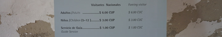 Tourist Prices While Travelling Cuba Independently