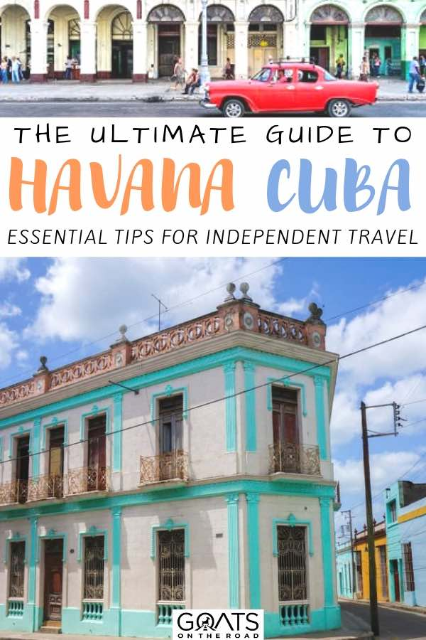 cuban architecture with text overlay the ultimate guide to havana cuba