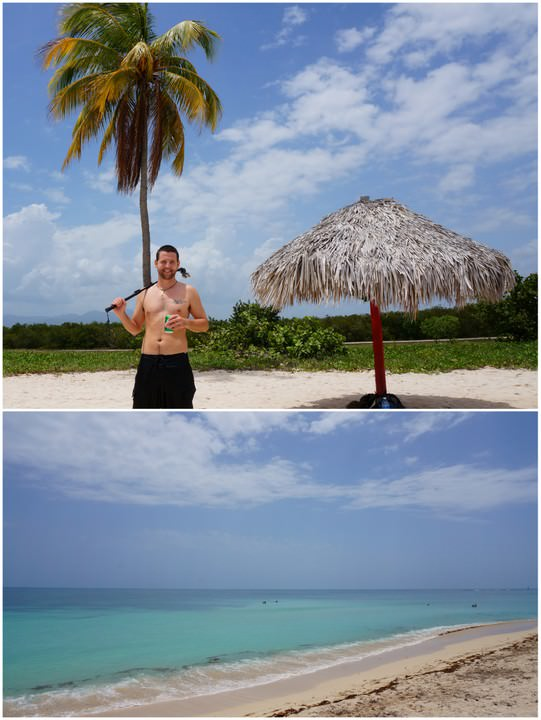 playa ancon beach trinidad cuba