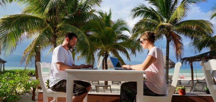 Blogging on Holbox